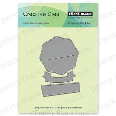 Penny Black POCKET AND BANNERS Thin Metal Creative Dies 51 677 Preview Image