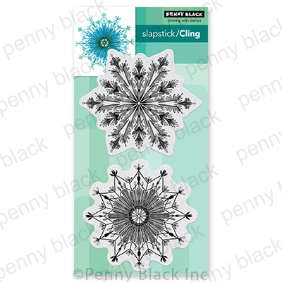 Penny Black Cling Stamps FAB FLAKES 40 767 zoom image