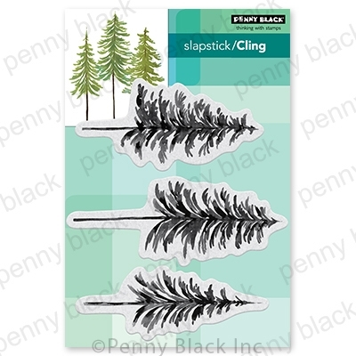 Penny Black Cling Stamps ALL THINGS EVERGREEN 40 764 Preview Image