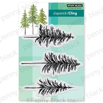 Penny Black Cling Stamps ALL THINGS EVERGREEN 40 764