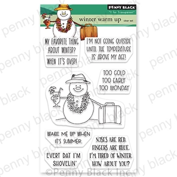 Penny Black Clear Stamps WINTER WARM UP 30 776