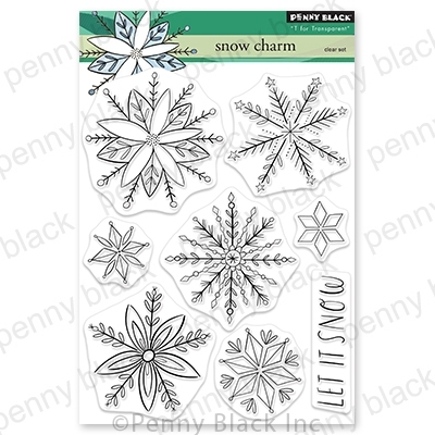 Penny Black Clear Stamps SNOW CHARM 30 772 zoom image