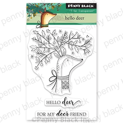 Penny Black Clear Stamps HELLO DEER 30 766 Preview Image
