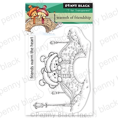 Penny Black Clear Stamps WARMTH OF FRIENDSHIP 30 764 Preview Image