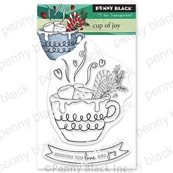 Penny Black Clear Stamps CUP OF JOY 30 746