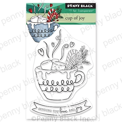 Penny Black Clear Stamps CUP OF JOY 30 746 zoom image