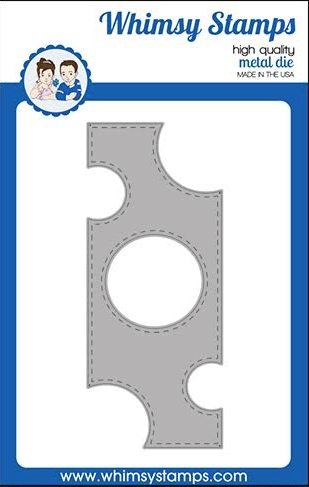 Whimsy Stamps SLIMLINE SWISS DOT Dies WSD503 Preview Image