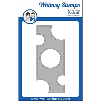 Whimsy Stamps SLIMLINE SWISS DOT Dies WSD503