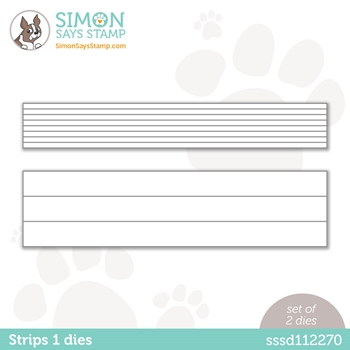 Simon Says Stamp STRIPS 1 Wafer Dies sssd112270 Diecember