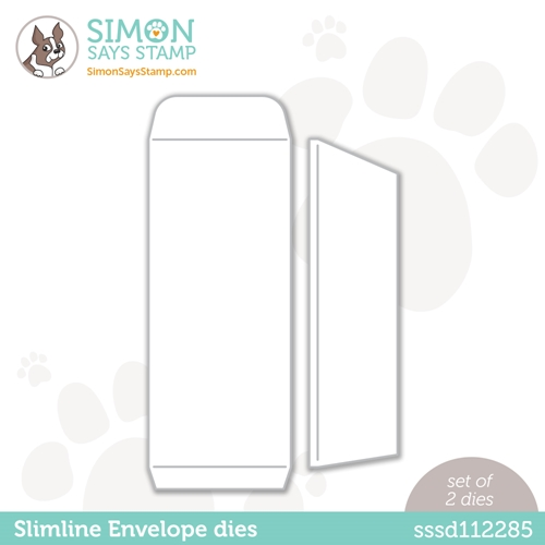 Simon Says Stamp SLIMLINE ENVELOPE Wafer Dies sssd112285 Diecember Preview Image