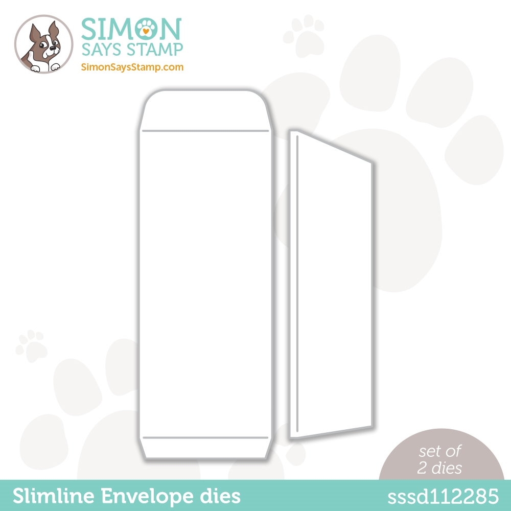 Simon Says Stamp SLIMLINE ENVELOPE Wafer Dies sssd112285 Diecember zoom image