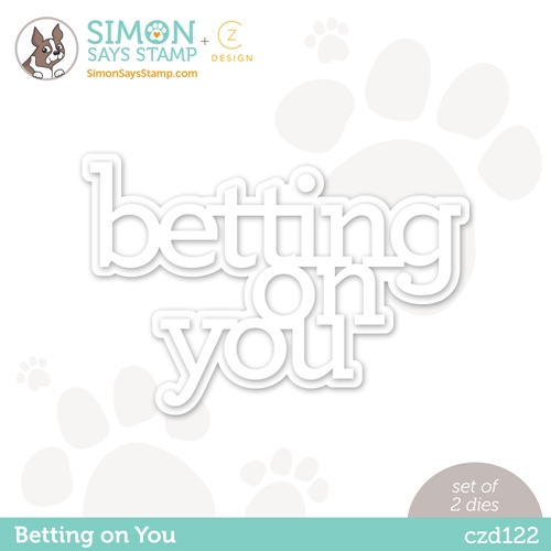 CZ Design BETTING ON YOU Wafer Dies czd122 Diecember Preview Image