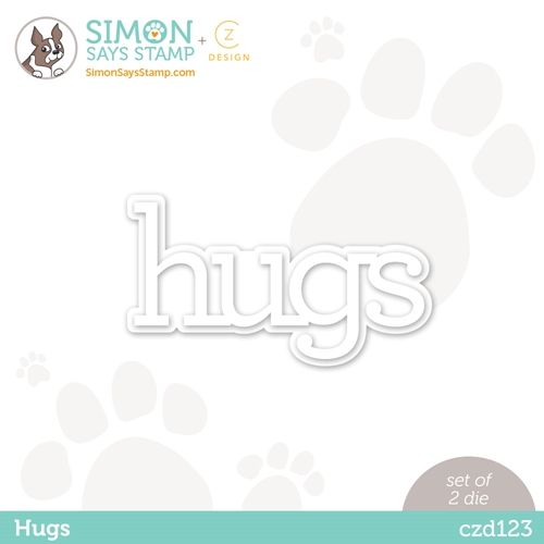 CZ Design HUGS Wafer Dies czd123 Diecember Preview Image