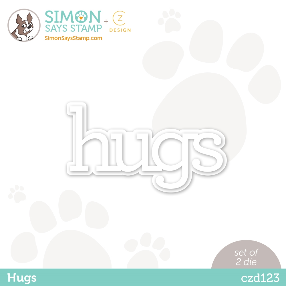 CZ Design HUGS Wafer Dies czd123 Diecember zoom image