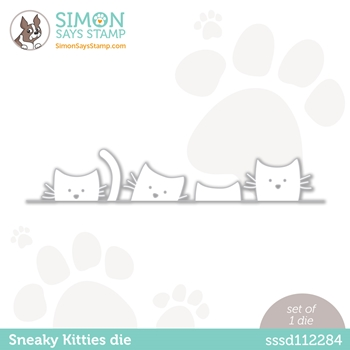 Simon Says Stamp SNEAKY KITTIES Wafer Die sssd112284 Diecember
