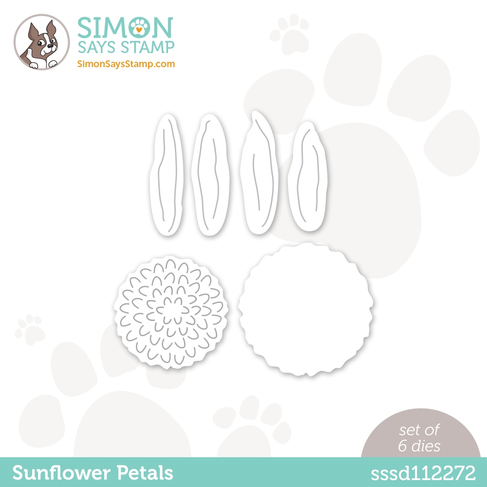 Simon Says Stamp SUNFLOWER PETALS Wafer Dies sssd112272 Diecember zoom image