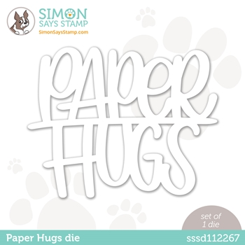 Simon Says Stamp PAPER HUGS Wafer Die sssd112267 Diecember