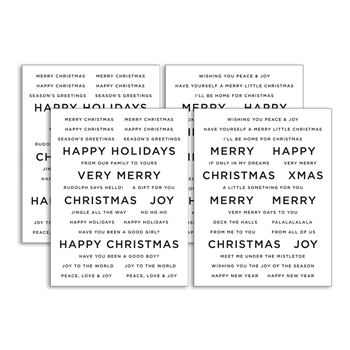 CZ Designs SENTIMENT STRIPS CHRISTMAS czg016