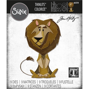 Tim Holtz Sizzix HARRISON Colorize Thinlits Dies 665218
