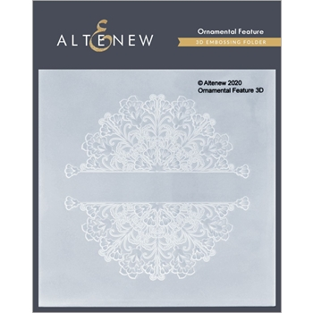 Altenew ORNAMENTAL FEATURE 3D Embossing Folder ALT4696