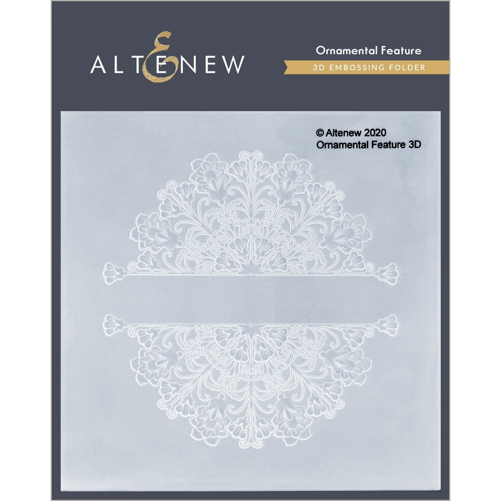 Altenew ORNAMENTAL FEATURE 3D Embossing Folder ALT4696 zoom image
