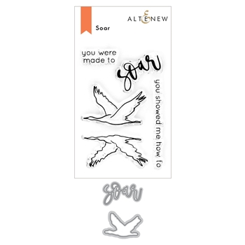 Altenew SOAR Clear Stamp and Die Bundle ALT4682