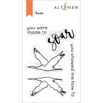 Altenew SOAR Clear Stamps ALT4680