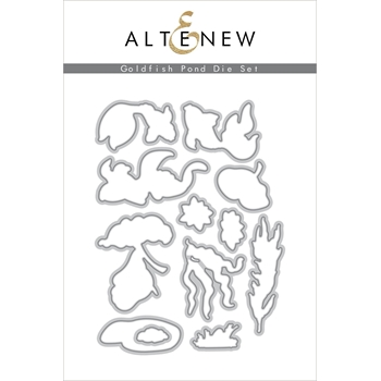 Altenew GOLDFISH POND Dies ALT4671