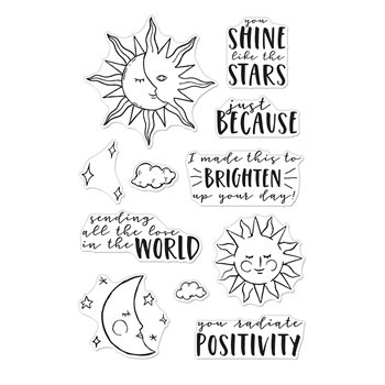 Hero Arts Clear Stamps YOU SHINE CM497