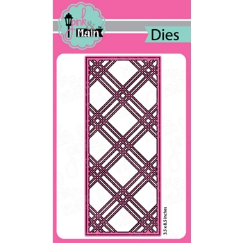 Pink and Main PLAID SLIMLINE Die pnm311