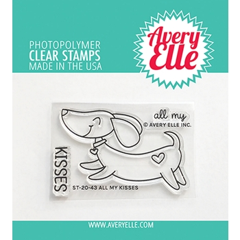 Avery Elle Clear Stamps ALL MY KISSES ST 20 43