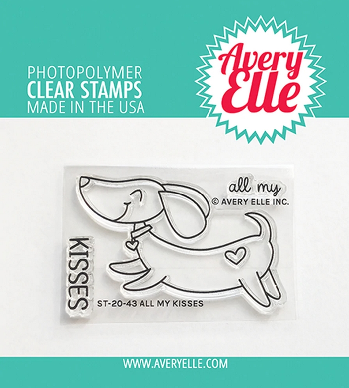 Avery Elle Clear Stamps ALL MY KISSES ST 20 43 zoom image