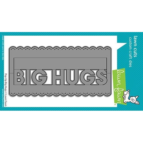 Lawn Fawn POP-UP BIG HUGS Die Cuts lf2474 Preview Image