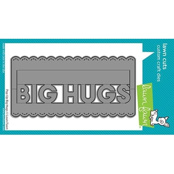 Lawn Fawn POP-UP BIG HUGS Die Cuts lf2474