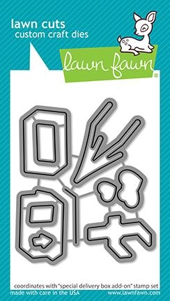 Lawn Fawn SPECIAL DELIVERY ADD-ON Die Cuts lf2469 Preview Image