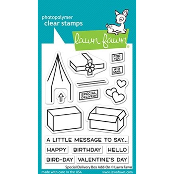 Lawn Fawn SPECIAL DELIVERY ADD-ON Clear Stamps lf2468