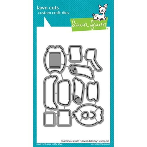 Lawn Fawn SPECIAL DELIVERY Die Cuts lf2467 Preview Image