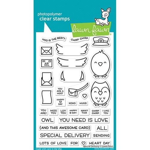 Lawn Fawn SPECIAL DELIVERY Clear Stamps lf2466 Preview Image