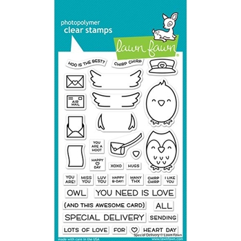 Lawn Fawn SPECIAL DELIVERY Clear Stamps lf2466