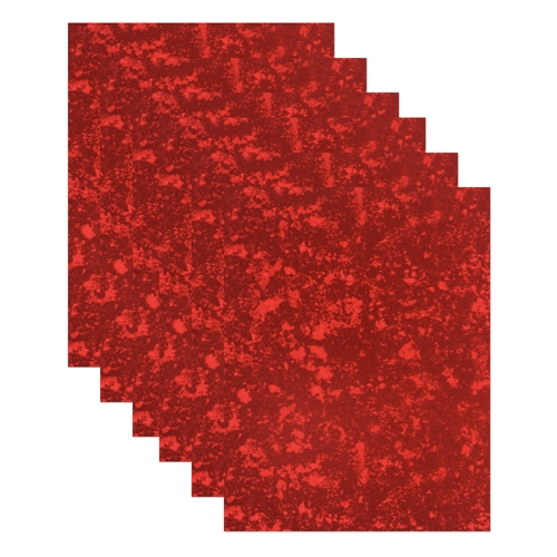 Simon Says Stamp Cardstock RED HOLOGRAPHIC holo6red Love You Preview Image