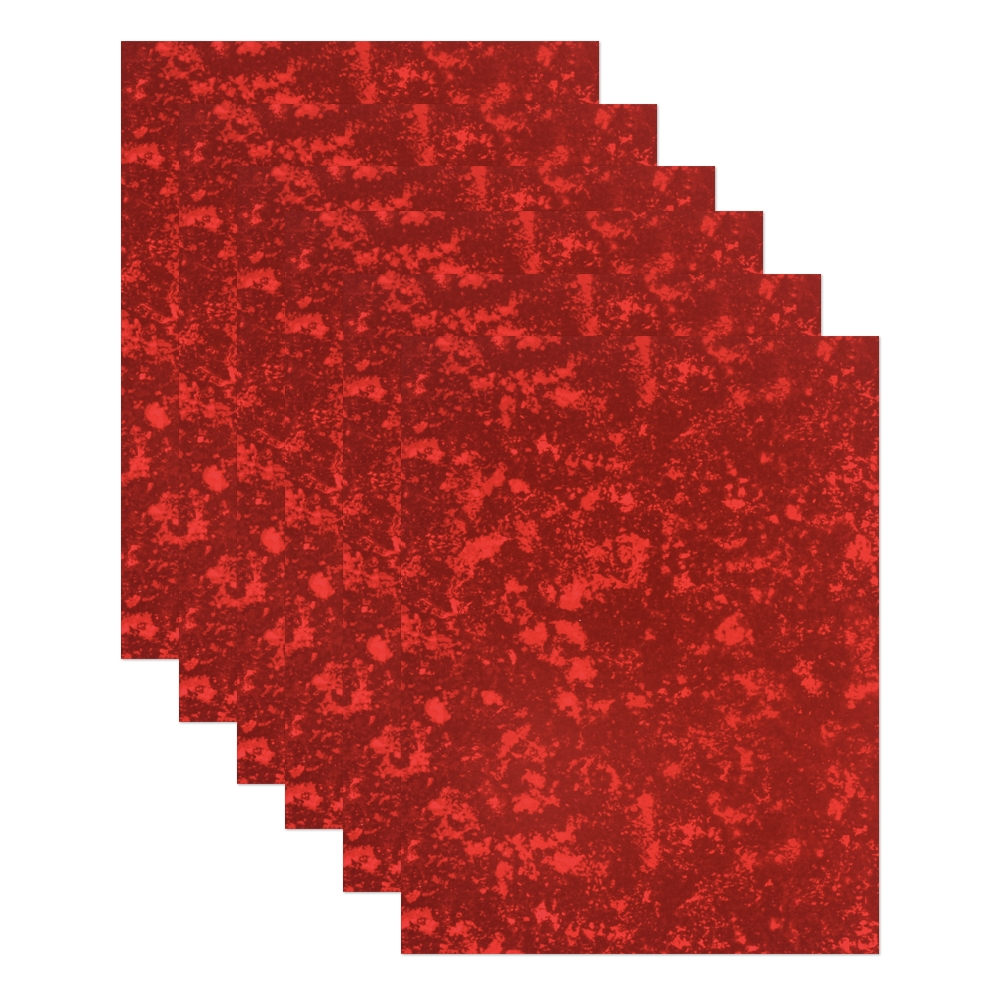 Simon Says Stamp Cardstock RED HOLOGRAPHIC holo6red Love You zoom image