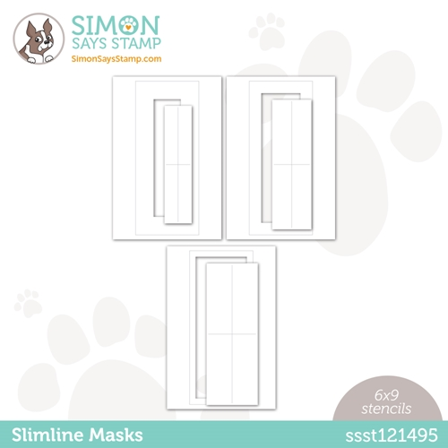 Simon Says Stamp Stencil SLIMLINE MASKS ssst121495 Love You Preview Image