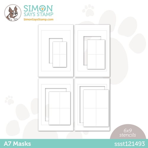 Simon Says Stamp Stencil A7 MASKS ssst121493 Love You Preview Image