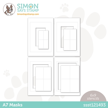 Simon Says Stamp Stencil A7 MASKS ssst121493 Love You