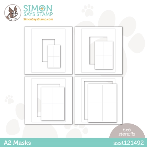 Simon Says Stamp Stencil A2 MASKS ssst121492 Love You Preview Image