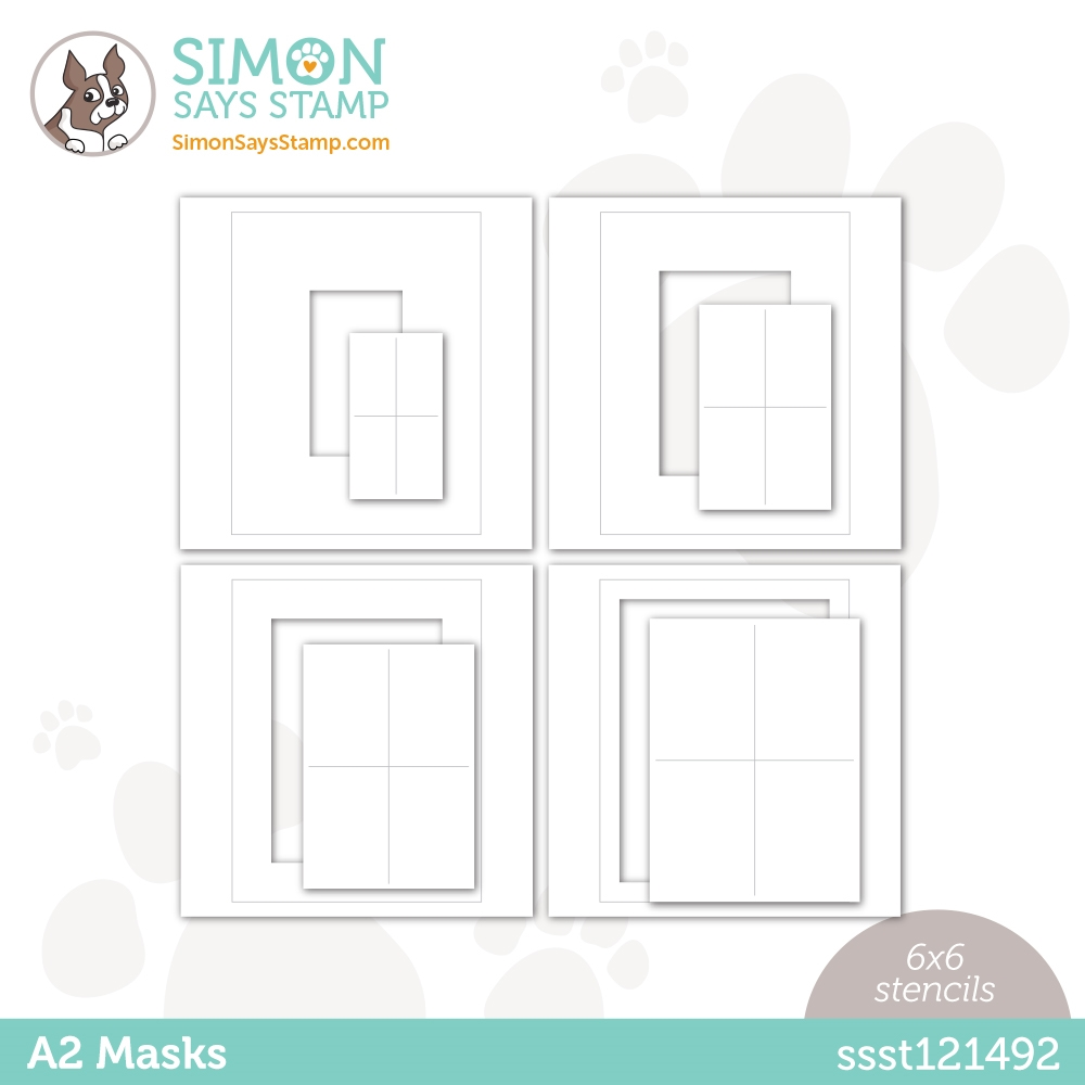 Simon Says Stamp Stencil A2 MASKS ssst121492 Love You zoom image