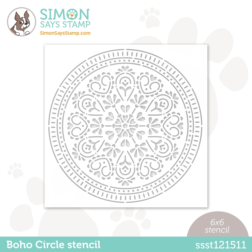 Simon Says Stamp Boho Circle Stencil