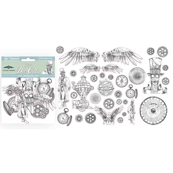 Stamperia SIR VAGABOND CLEAR Die Cuts dfldcp01