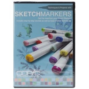 COPIC DVD Video Sketch Marker Techniques And Projects Preview Image