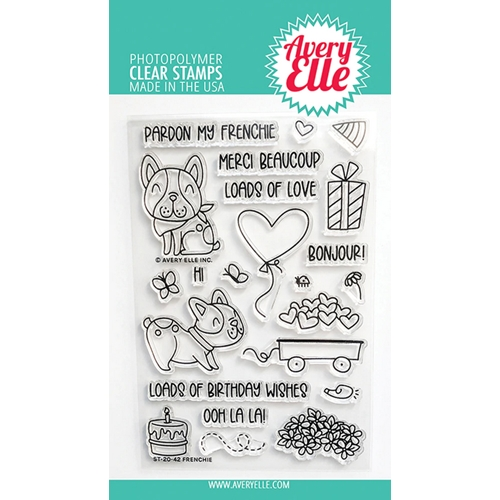 Avery Elle Clear Stamps FRENCHIE ST 20 42 Preview Image